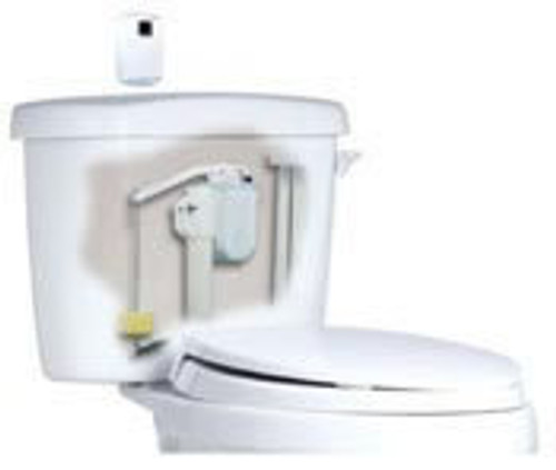 Rubbermaid AutoFlush for Tank Toilets - Polished Chrome