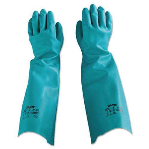 AnsellPro Sol-Vex Nitrile Gloves, Size 9 (ANS371859)
