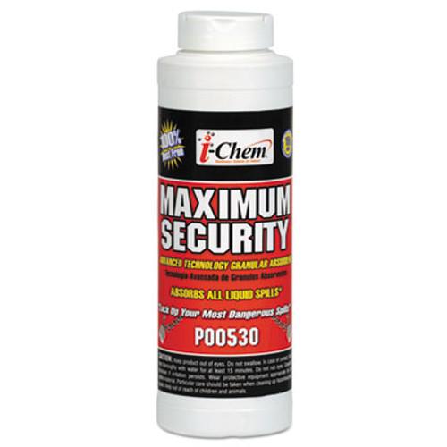 i-Chem Maximum Security Sorbent, Granular, White, 32 Ounces, Canister, 12/Carton (AMR1039738)
