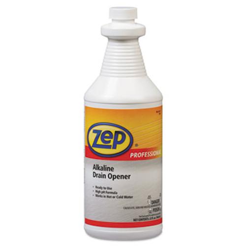 Zep Professional Alkaline Drain Opener Quart Bottle (AMR1041423EA)
