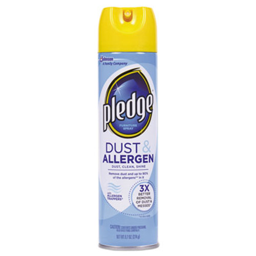 Pledge Dust and Allergen, Outdoor Fresh, 9.7oz CFC-Free Aerosol, 12/Carton (SJN671303)