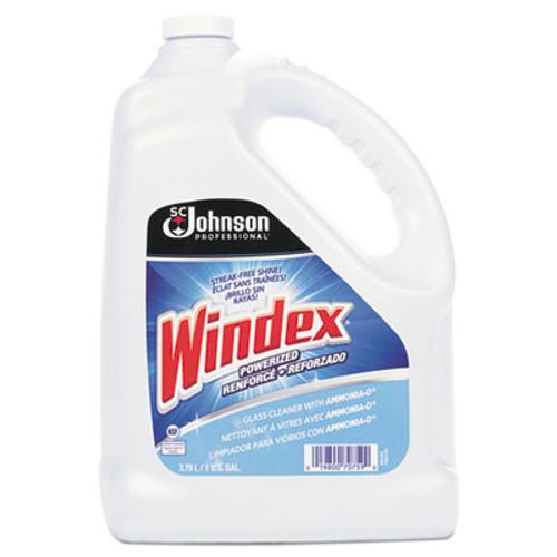 Windex Powerized Formula Glass & Surface Cleaner, 1gal Bottle (SJN696503EA)