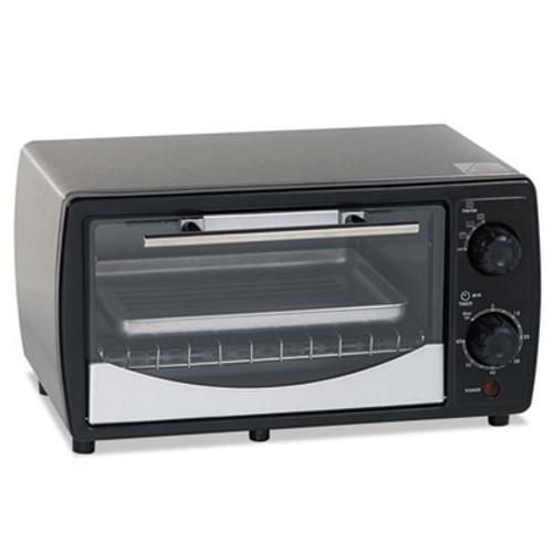 Avanti Toaster Oven, 0.32 cu ft Capacity, Stainless Steel/Black, 14 1/2 x 11 1/2 x 8 (AVAPOW31B)