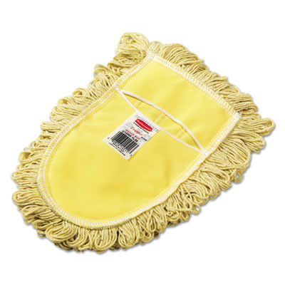 Trapper Commercial Dust Mop, Looped-end Launderable, 5'' x 48'', Yellow, Sold as 1 Each