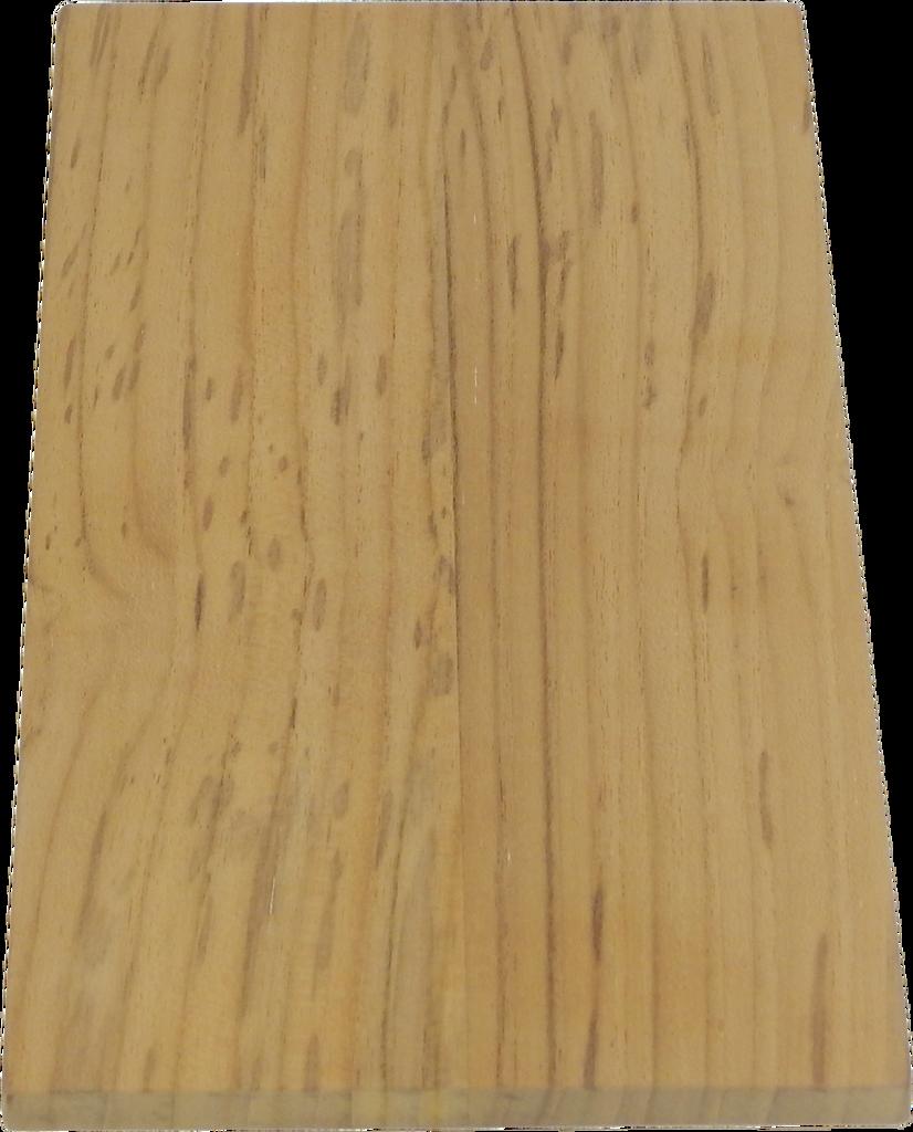 "Solid Teak Lumber Plank-3/8 x 5-3/4 x 12"" (1 foot)"