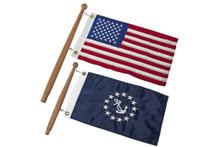 SeaTeak Flag Poles