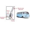 Empi 15-2028 Aluminum Side Step F/Bay Window Sliding Door Type 2 Vw Bus 1950-79