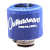 """Blue Outerwear Prefilter Round 2"""" Diameter 10-1132-02"""