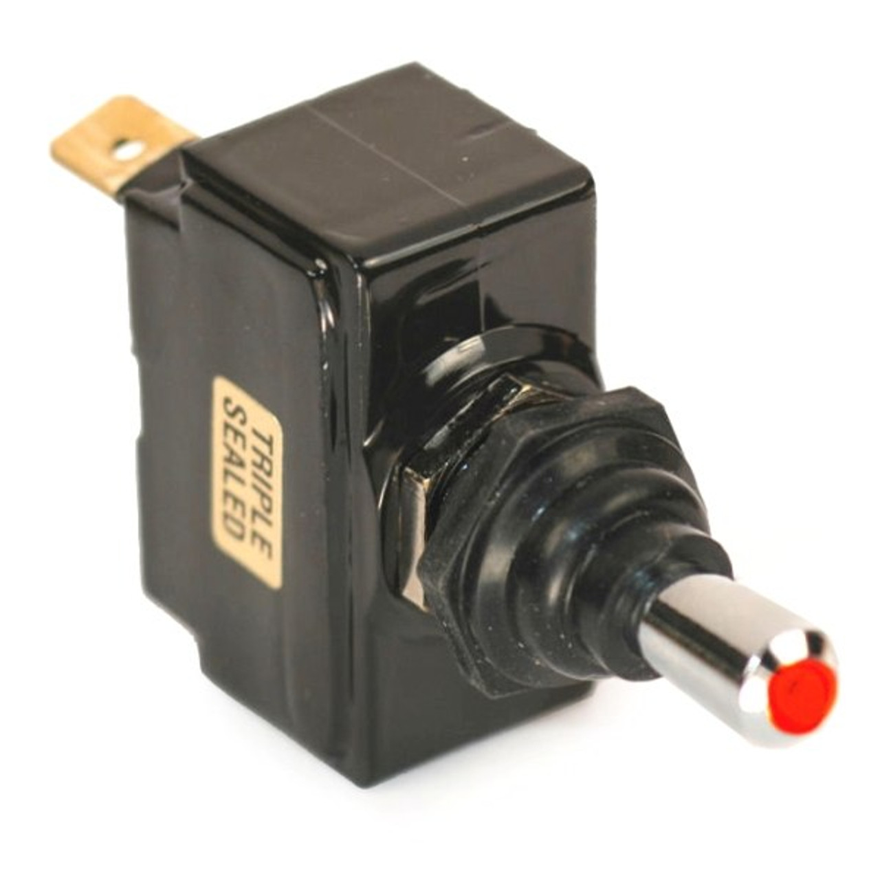 K4 Red Light Tip Off-On Triple Sealed Switch 12 Volt 15 Amp 13-145 ...