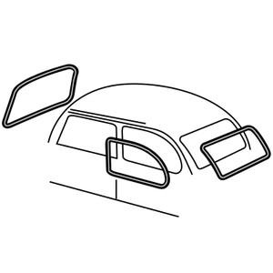 empi mooreparts 70 VW Karmann Ghia Parts sku 98 4543 b