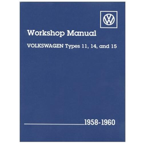 type 1 bug 1958 1960 bentley shop manual for air cooled volkswagens rh mooreparts com Bentley Parts Online Bentley Brooklands Exective Parts