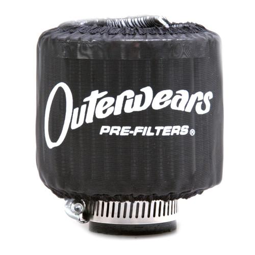 "Black Outerwear Prefilter Without Top Round 2"" Diameter 10-1132-01"