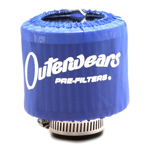 """Blue Outerwear Prefilter Without Top Round 2"""" Diameter 10-1132-02"""