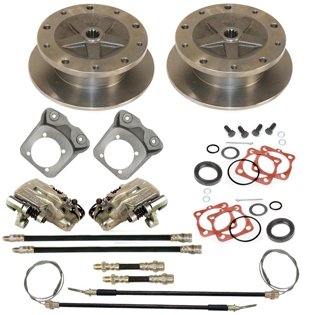 Rear Disc Brake Kits 5 Lug Vw