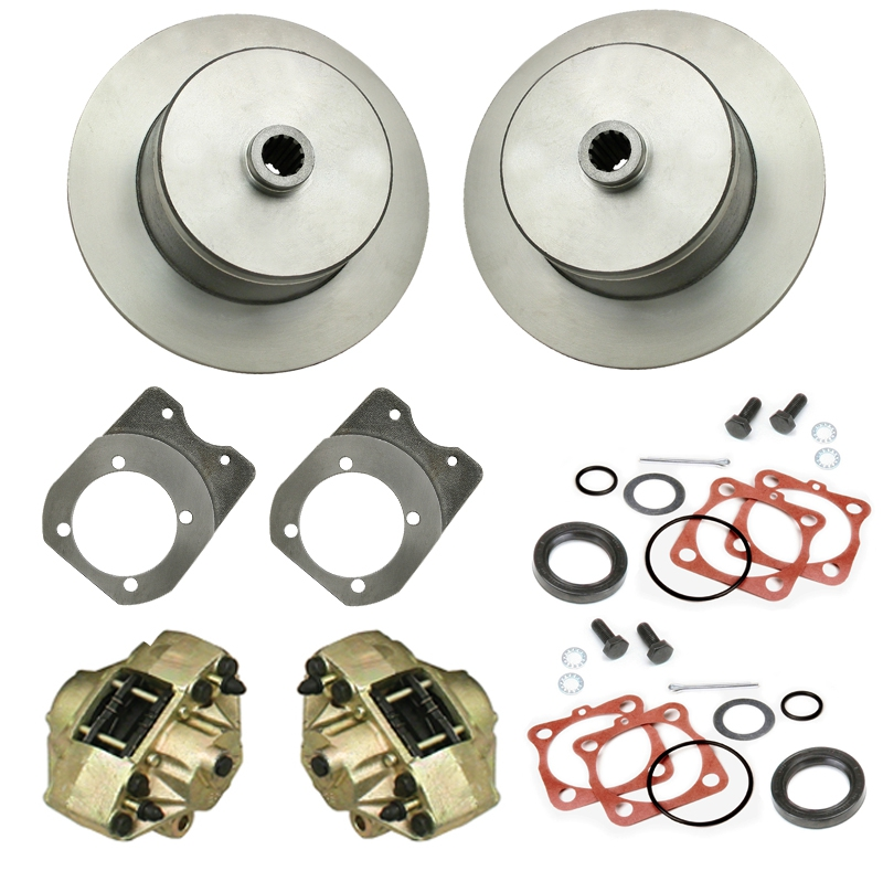 Rear Disc Brake Kits No Lug For Custom Pattern