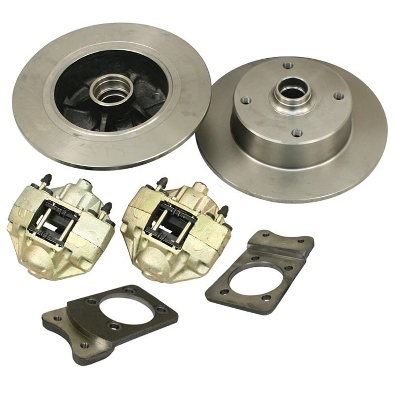 Front Disc Brake Kits 4 Lug VW
