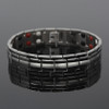 Novoa Men's Quad-Element Titanium Magnetic Bracelet - 12,800 Gauss B246