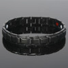 Magnetic Bracelet  Novoa Men's Quad-Element Black  B422QD