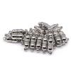 Magnetic Bracelet Clasp Silver Cylinder Neodymium