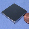 "N45 1""x1""x1/8"" Rare Earth Neodymium Block Magnet"