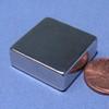 "N42 1""x1""x3/8"" Neodymium Rare Earth Block Magnet"