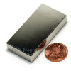"Rectangular powerful magnet 2x1x3/8"" N52"