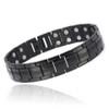 Magnetic Bracelet Novoa Men's Satin Titanium Magnetic Bracelet