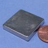 "N52 1""x1""x3/16"" Neodymium Rare Earth Block Magnet"