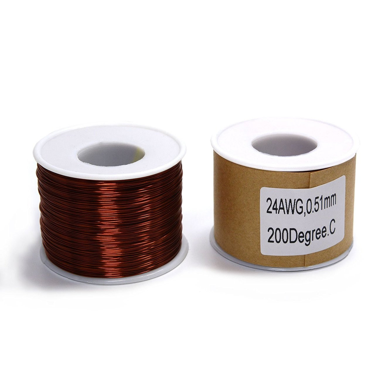 Magnet wire 1lb spool of 24 awg mw 24awg 1 keyboard keysfo Images