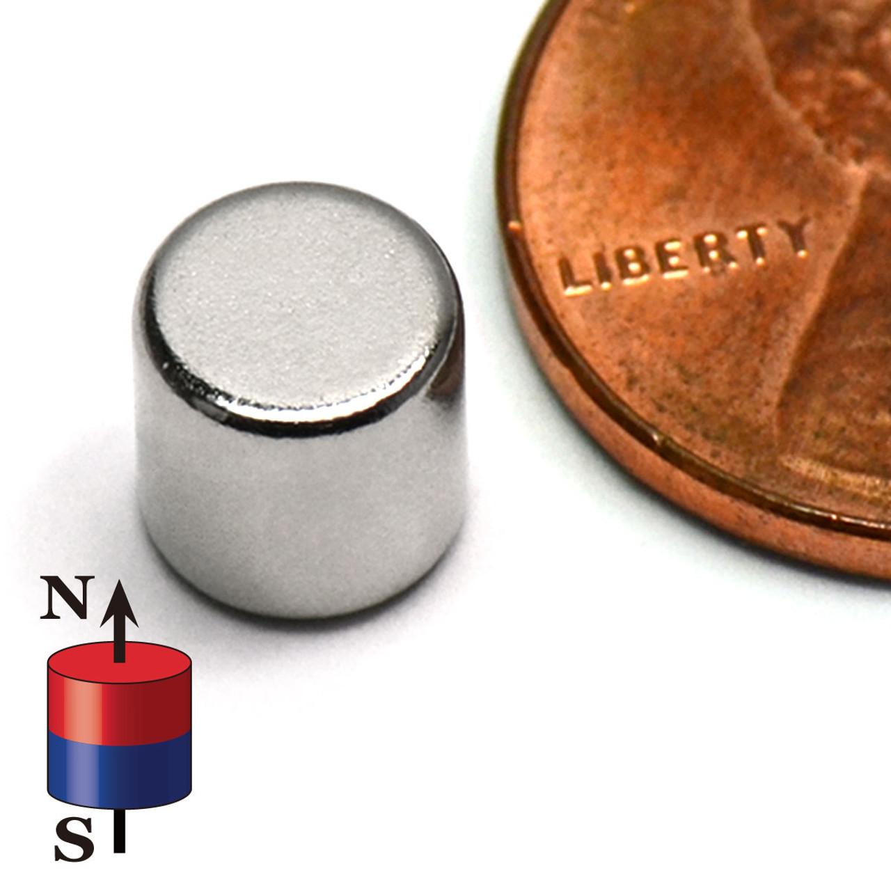 neodymium-cylinder-magnet n 45-1/4x 1/4