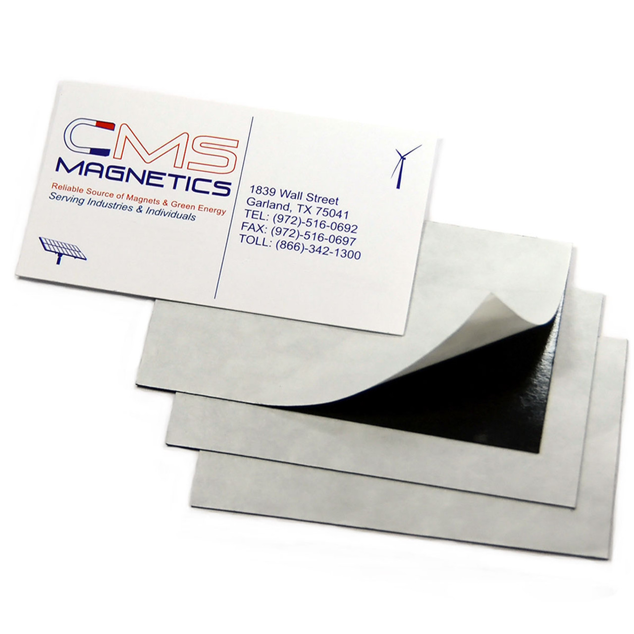Business Card Magnet Flexible 50-count 20mil