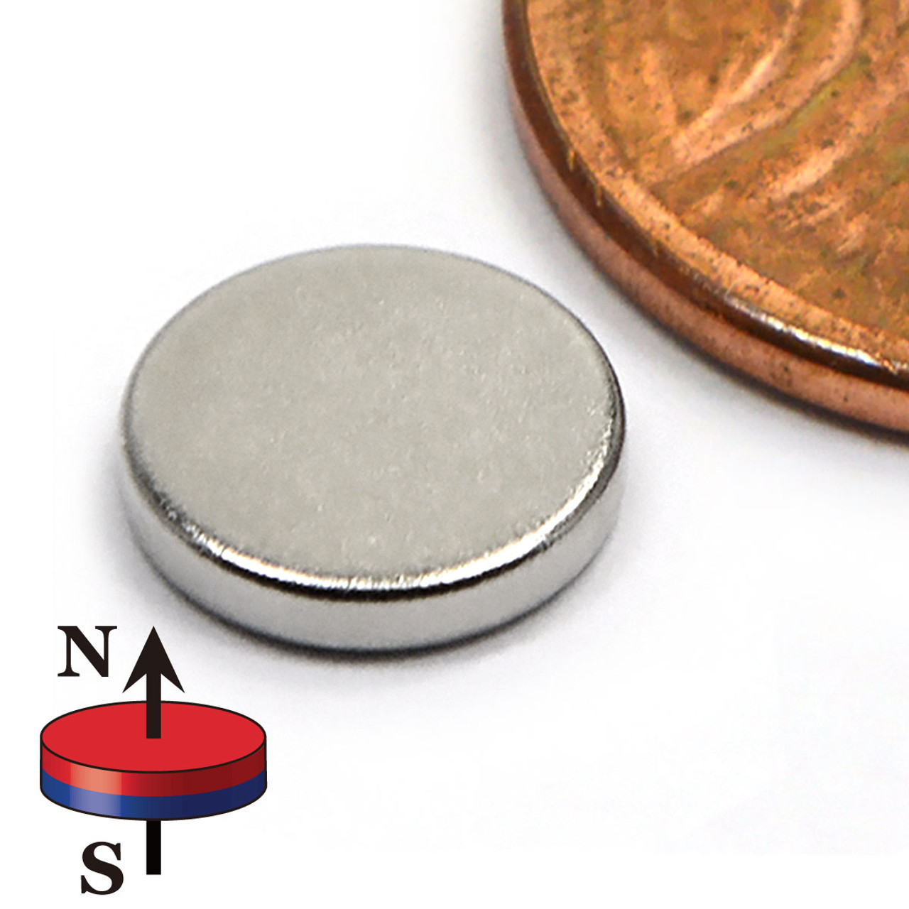 Rare Earth Disc Magnet N52 (ND0234-52NM)