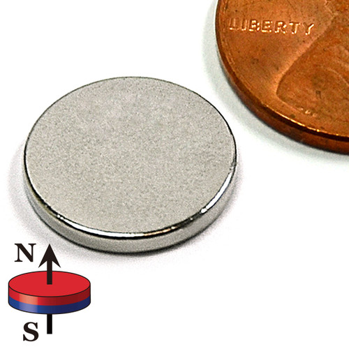 "1/2""X1/16"" NdFeB Rare Earth"