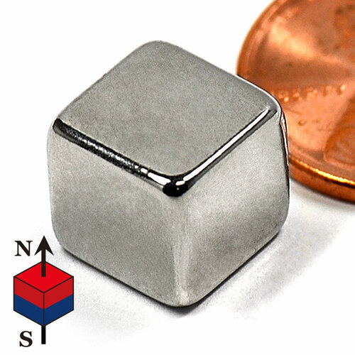 "3/8"" Cube NdFeB Rare Earth Magnets"
