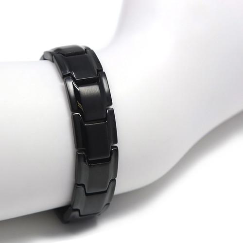 Magnetic Bracelet  Novoa Men's Quad-Element Black  B422QD