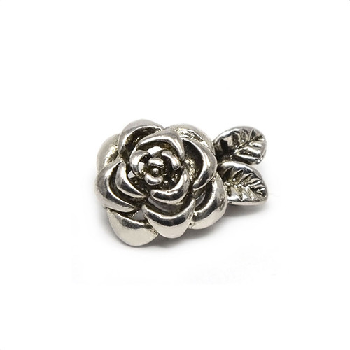 Silver Colored Rose Neodymium Magnetic Bracelet Clasp