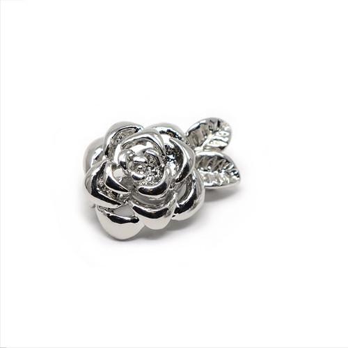 Platinum Colored Rose Neodymium Magnetic Bracelet Clasp