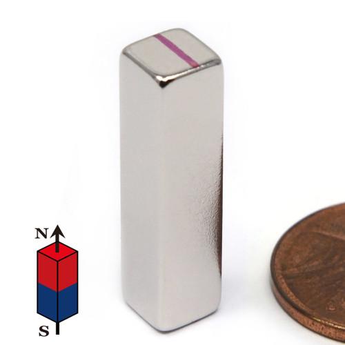 """1/4""""x1/4""""x1"""" Neodymium Rare Earth Block Magnet"""