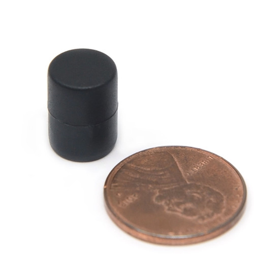 """3/8X1/2"""" NdFeB Rare Earth Magnet Plastic Coated very strong magnets for sale ,strong neodymium magnet powerful magnet"""