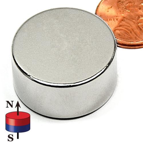 "1X1/2"" N52 Neodymium Magnet"