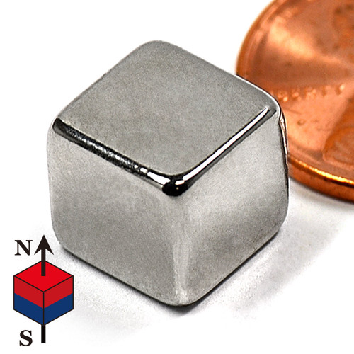"3/8"" Cube NdFeB Rare Earth Magnets for sale"