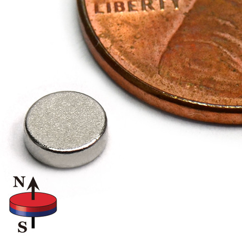 "3/16""X1/16"" Rare Earth Magnets"