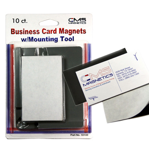 Magnet mounting tool w pack of 10 magnets magnet business card colourmoves