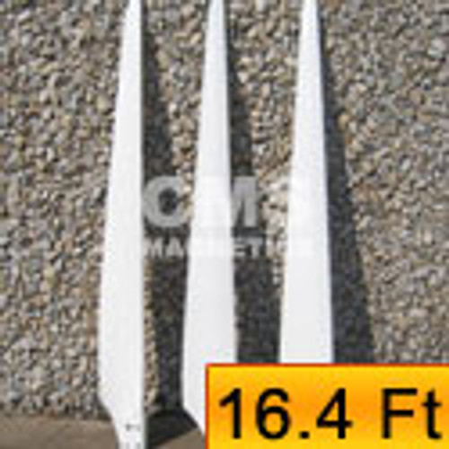 Liquidation - 5kW Wind Turbine Blades High Efficient & Reinforced 16.4' Rotor
