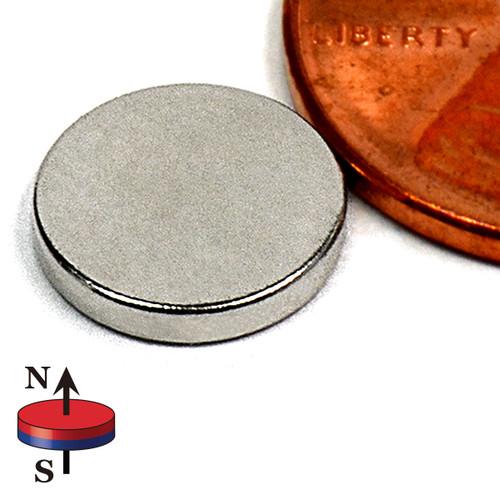 "3/8X1/16"" NdFeB Rare Earth Disc"
