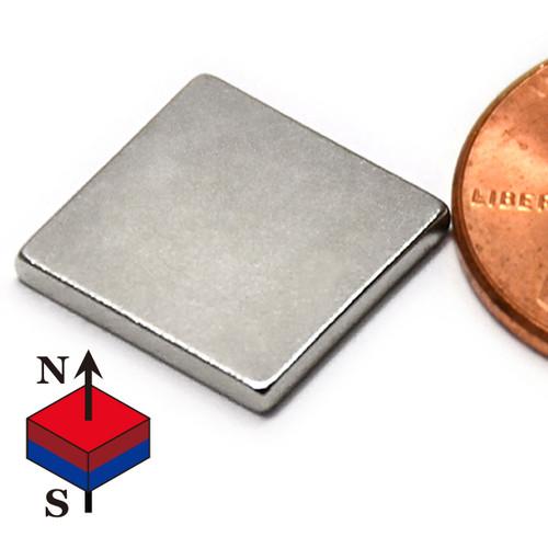 small flat neodymium magnet