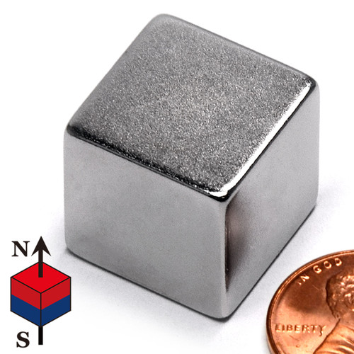 "N50 3/4"" Cube NdFeB Rare Earth Magnets"