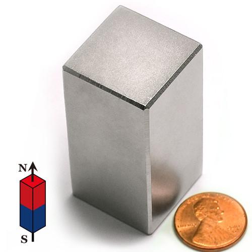 "1x1x2"" NdFeB Rare Earth Magnet"