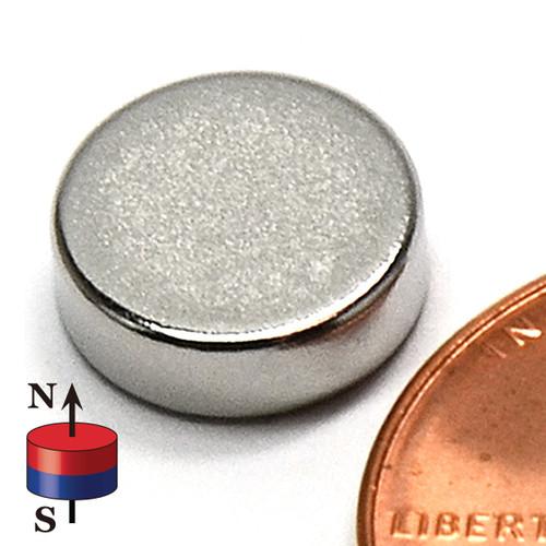 "3/8x1/8"" NdFeB Rare Earth Magnets"