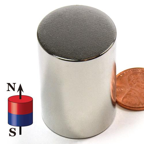 "1""x1 1/2"" N52 Neodymium Magnet"
